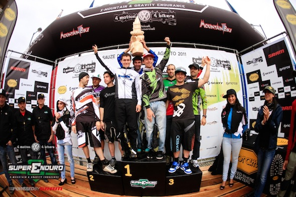 La France 1 remporte l'Enduro des Nations 2011