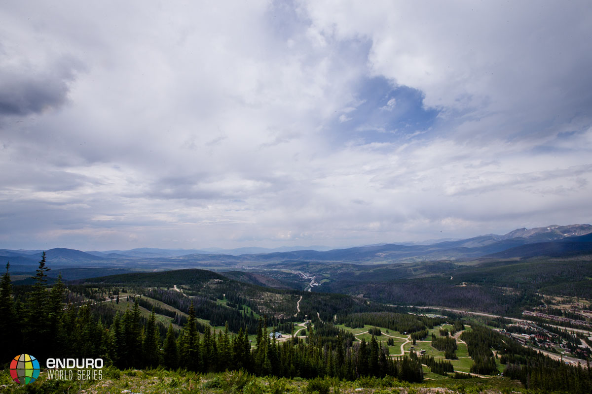 The view out from the mountain. EWS 5 2014 Winter Park. Photo by Matt Wragg