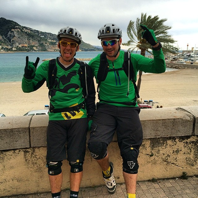 Mission accomplie, Menton !!! #mavic #enduro #adventure @endurojc