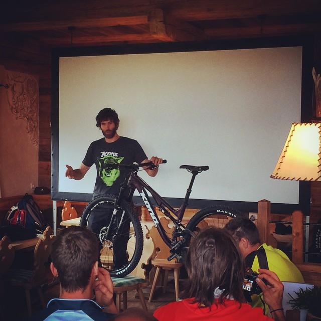 Week-end en compagnie du staff Kona pour tester les vélos 2015 sur les pistes de Serfaus (Autriche)