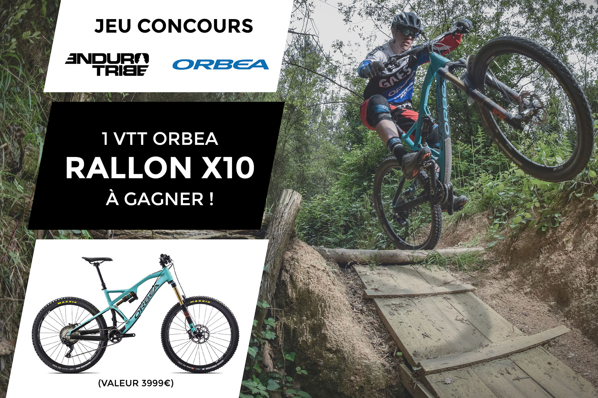 jeu concours endurotribe un orbea rallon x10 gagner. Black Bedroom Furniture Sets. Home Design Ideas