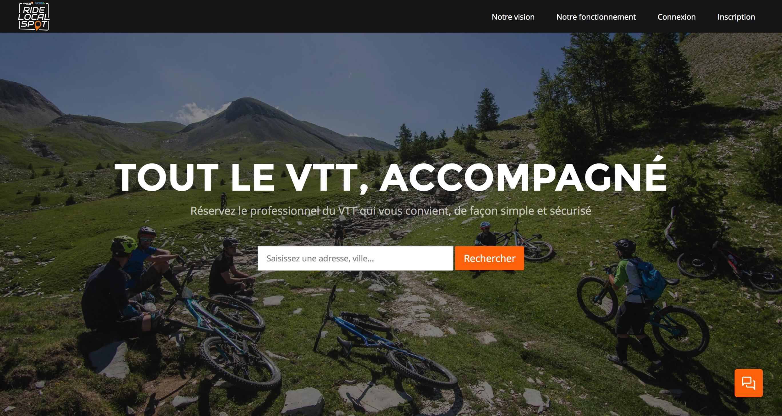 RideLocalSpot - Tout le VTT, accompagné !