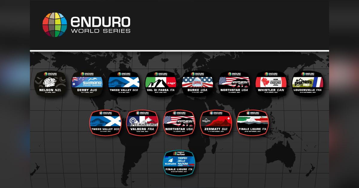 Calendrier Enduro Vtt 2021 Enduro World Series   Le calendrier 2021 (déjà !) révélé